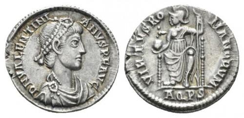 Valentinien II silique
