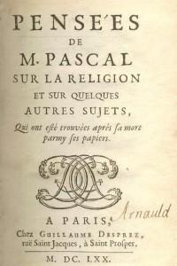 Ex-libris Arnauld (page de titre)
