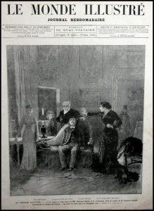 Représentation de Jack à l'Odéon 1881 (3)